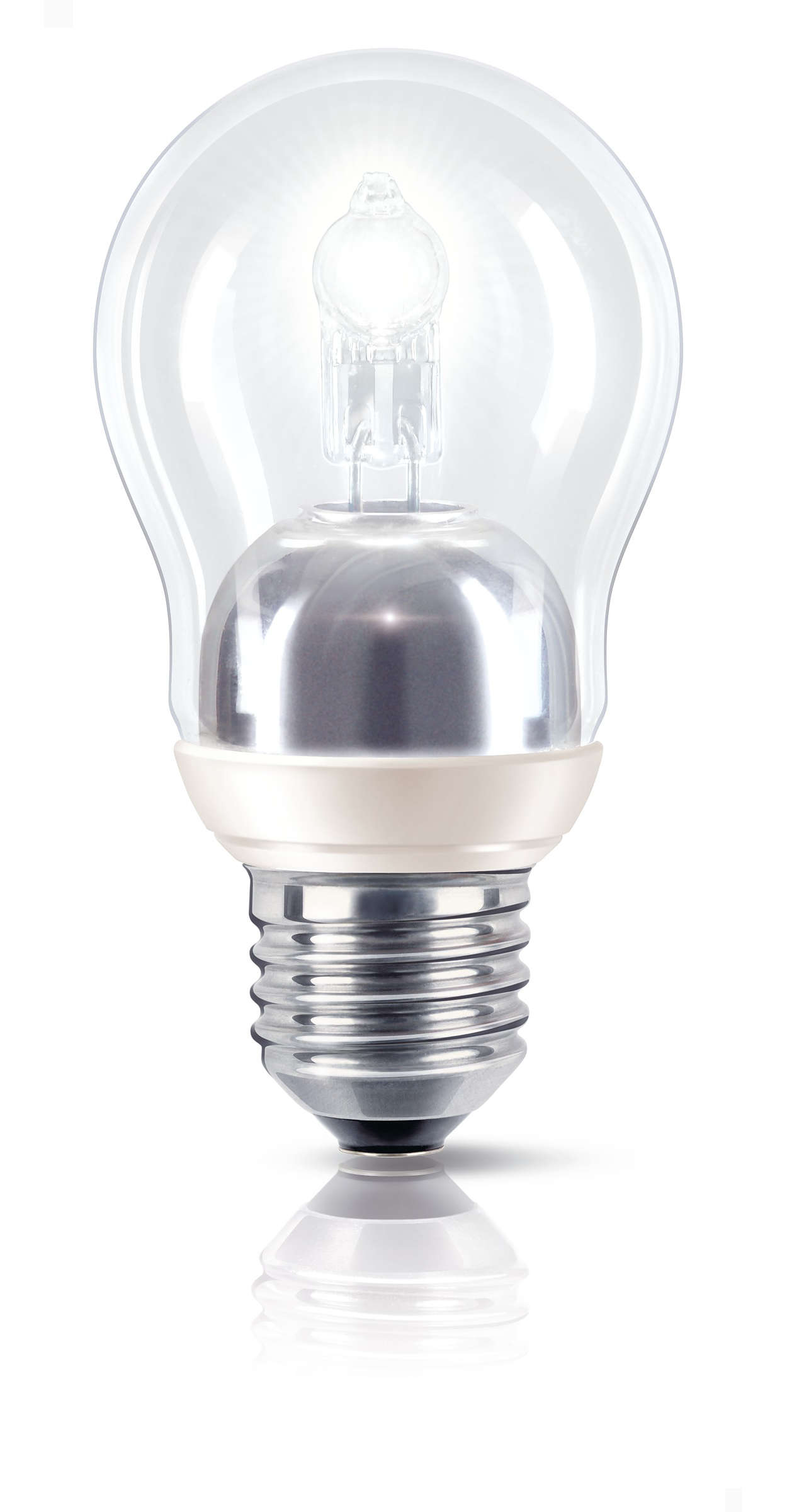 Strålende lys med halvt energiforbruk