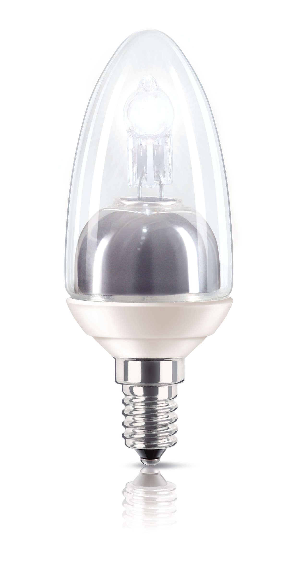Une lumière éclatante avec une consommation réduite de moitié