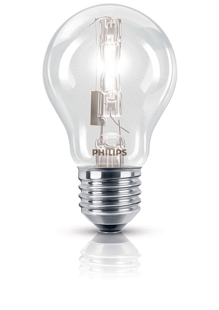 Parlak halojen ışık veren geleneksel şekil
