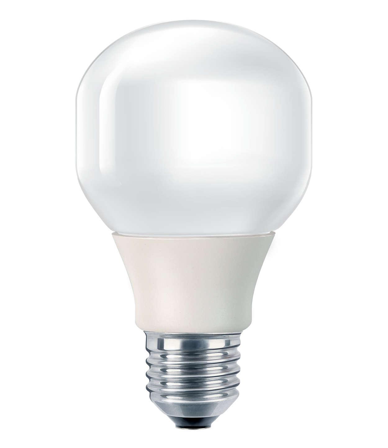 Мека и приятна светлина при икономично потребление на енергия