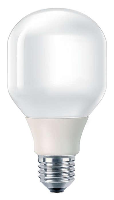 Lumină blândă şi delicată care economiseşte energie