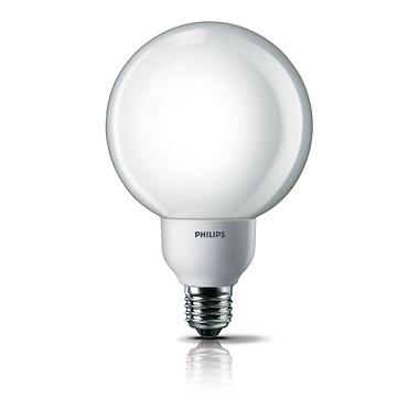 Softone Foco globo fluorescente compacta