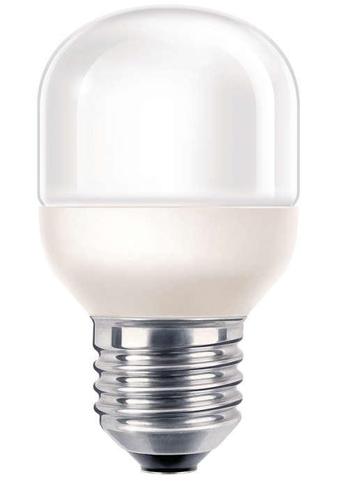 Zacht, vriendelijk en decoratief licht