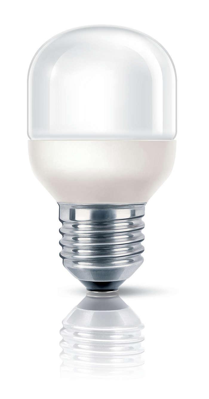 Bombilla de bajo consumo suave y ligera
