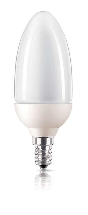 Švelni ir maloni energiją taupanti šviesa