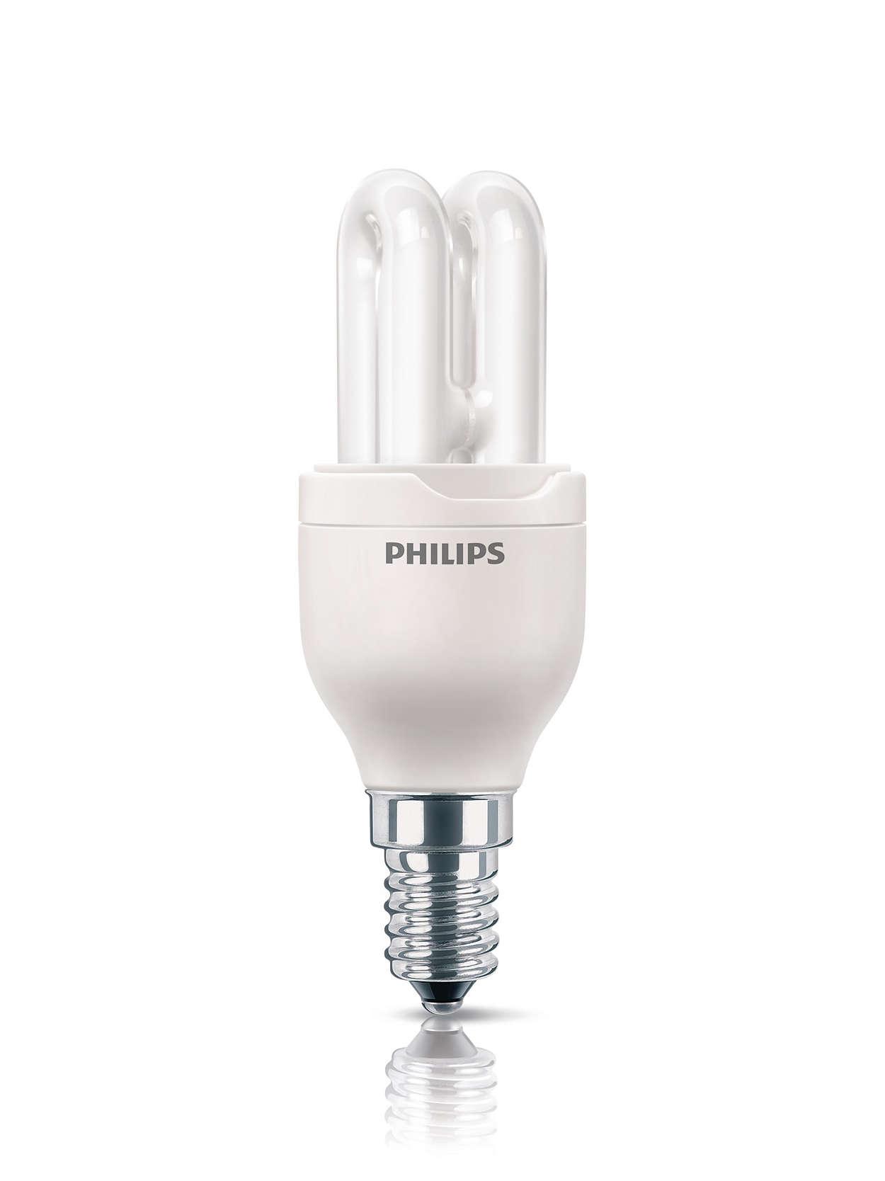 Ampoule compacte, puissante et belle
