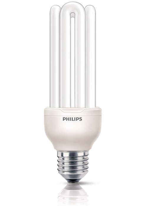 Kleine, leistungsstarke und schöne Lampe