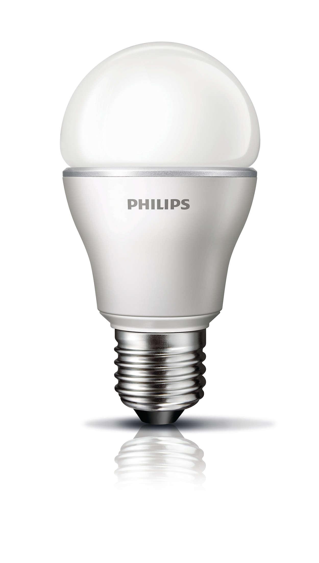 Myvision lampadina a led 872790089870500 philips for Lampadina lunga led
