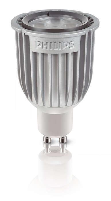 Erinomainen valon laatu, säästää eniten energiaa