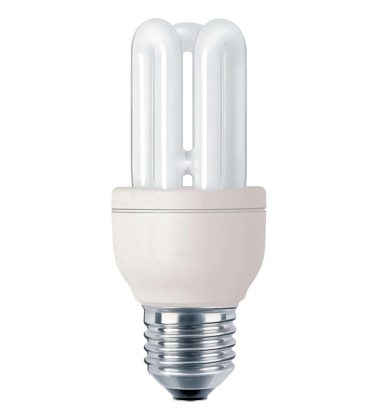 Ampoule compacte à économie d'énergie, usage professionnel