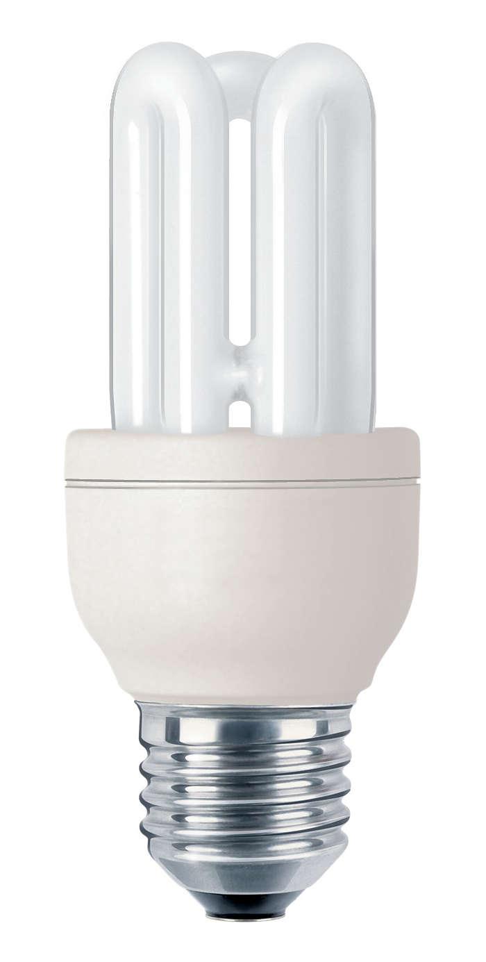 Profesjonalna, kompaktowa świetlówka energooszczędna
