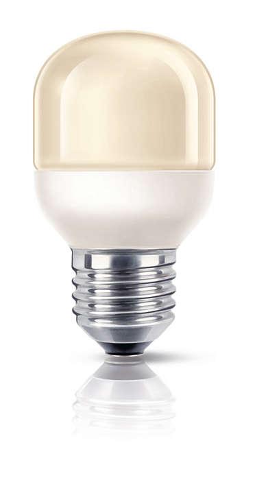 Łagodne, delikatne światło dekoracyjne