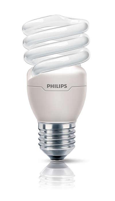 A lâmpada economizadora de energia mais pequena e brilhante