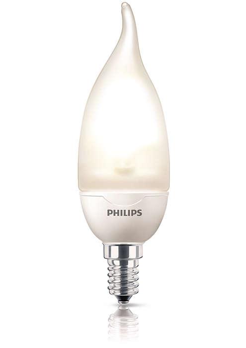 Decoratief ontworpen kaarslamp
