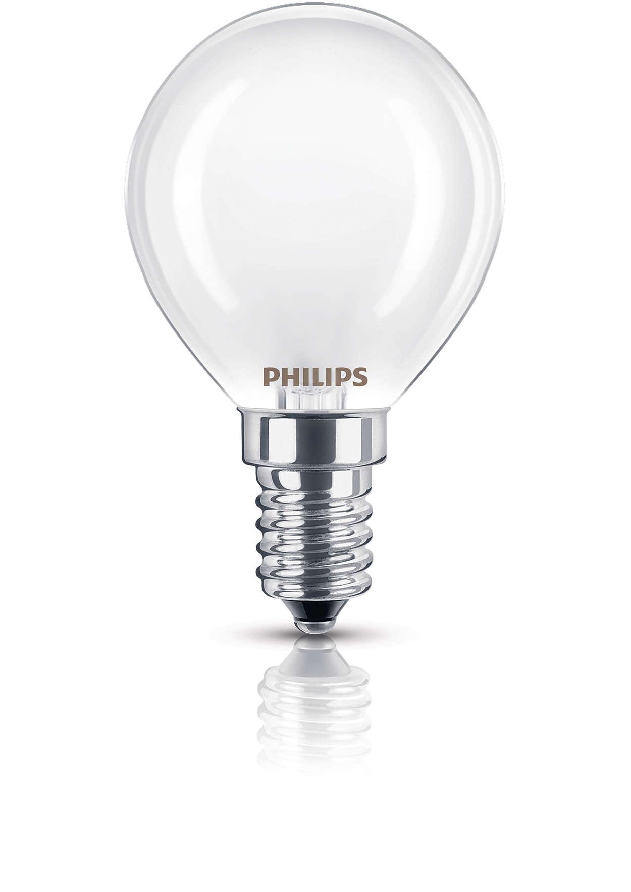 Mattierte Lampe für gedämpfte Beleuchtung