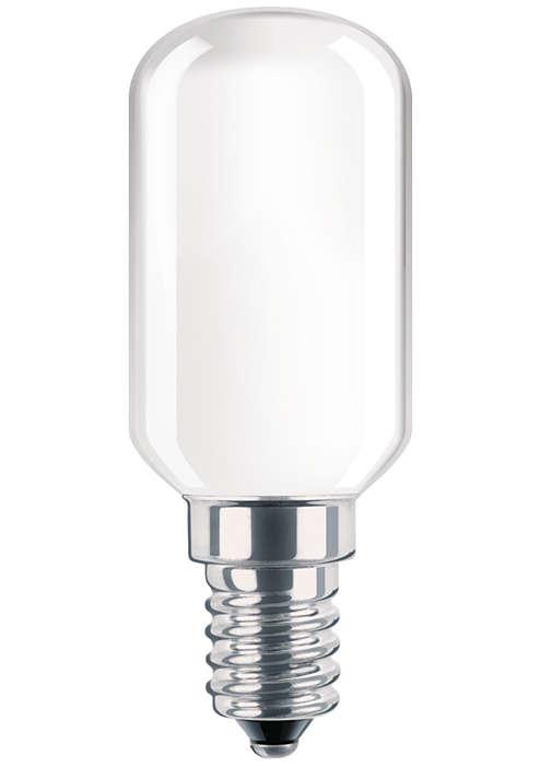 Glödlampa som nattlampa