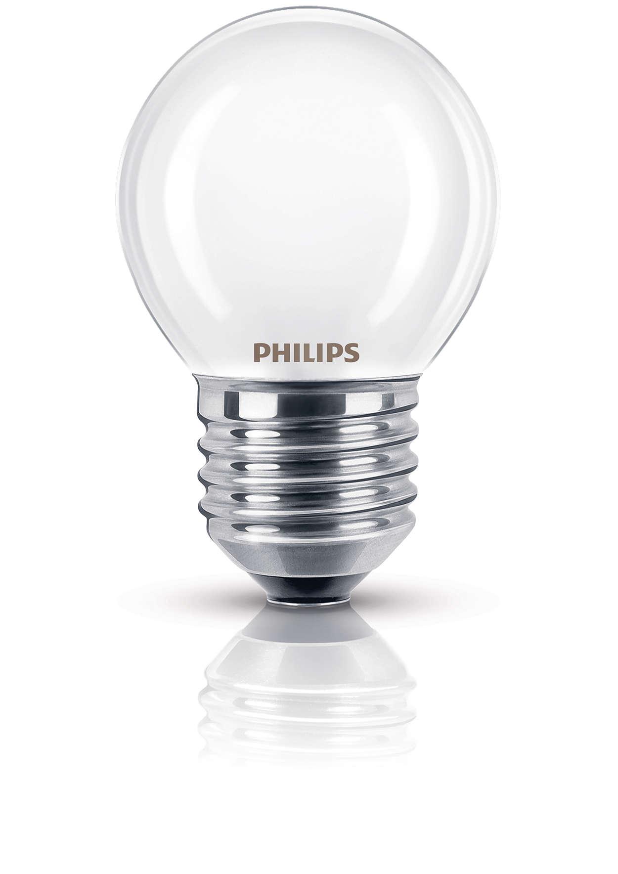 Matte lamp voor getemperd licht