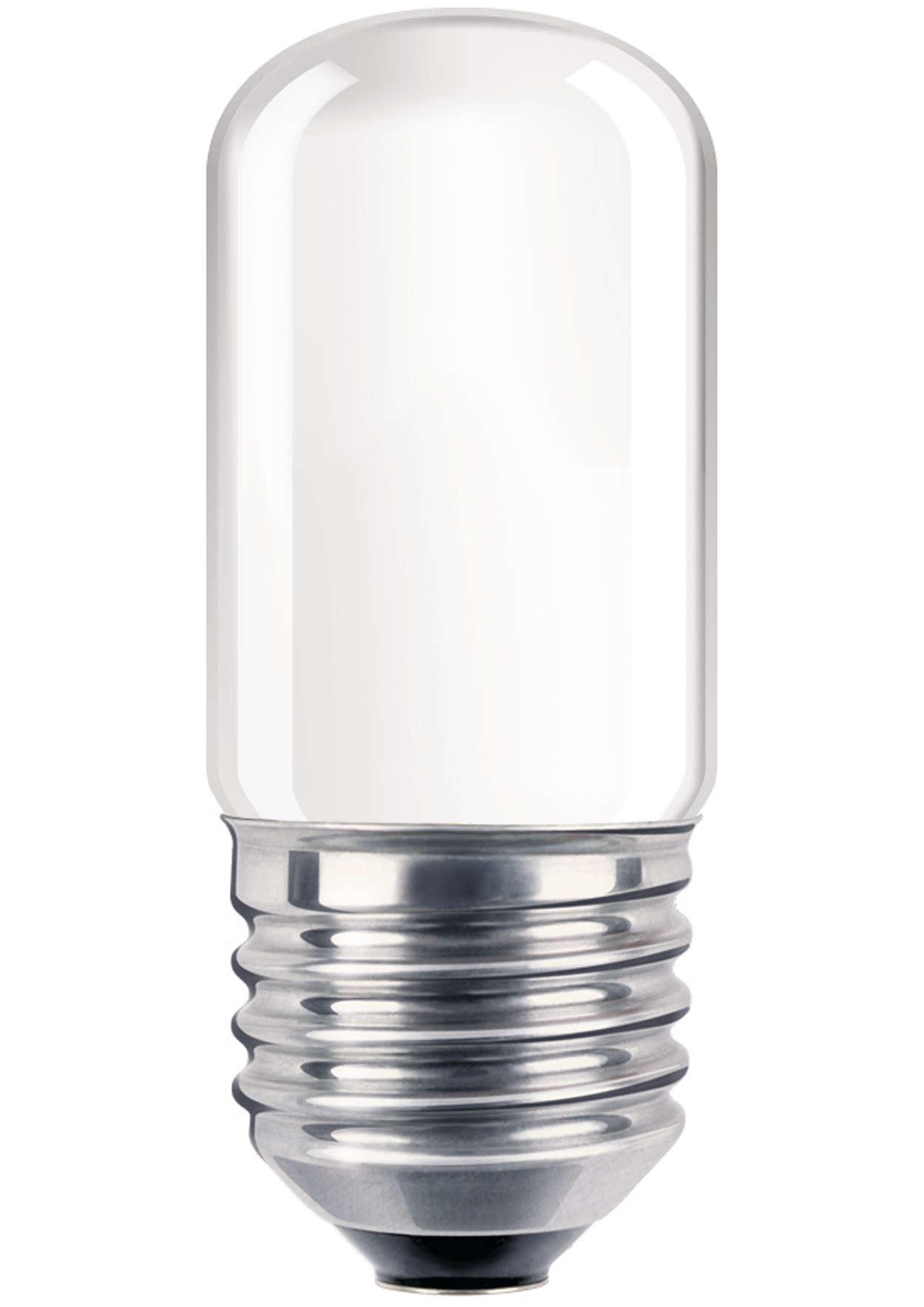 Glødelampe som brukes som nattlampe