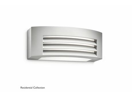 Fragrance wall lantern grey 1x24W 230V