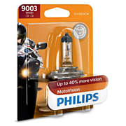 MotoVision Motorcycle headlight bulb