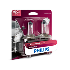 9003VPB2 VisionPlus upgrade headlight bulb