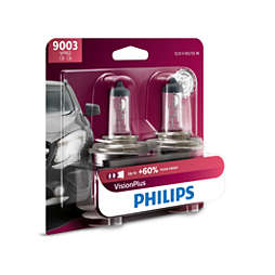 VisionPlus upgrade headlight bulb
