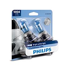 9004CVB2 CrystalVision ultra upgrade headlight bulb