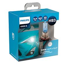 9005CVS2 CrystalVision ヘッドランプ用バルブ