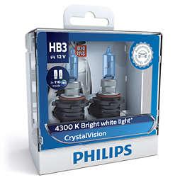 CrystalVision car headlight bulb
