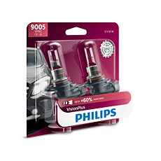 9005VPB2 -   VisionPlus upgrade headlight bulb