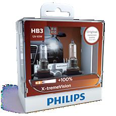 9005XVS2 -   X-tremeVision หลอดไฟหน้า