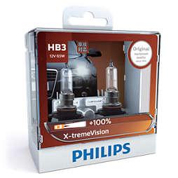 X-tremeVision 新極勁光 汽車车头鹵素燈泡