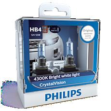 9006CVSM CrystalVision Bóng đèn pha