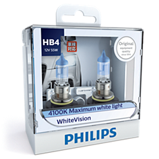 9006WHVS2 WhiteVision Headlight bulb