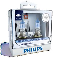 9006WHVS2 WhiteVision Bohlam lampu depan