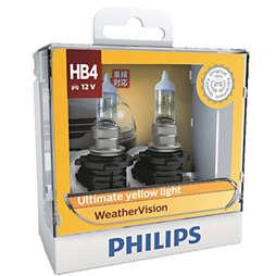 WeatherVision 車頭燈燈泡