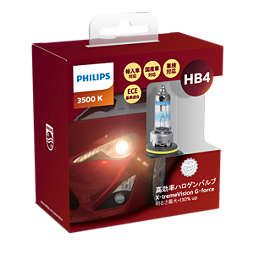 X-tremeVision G-force car headlight bulb