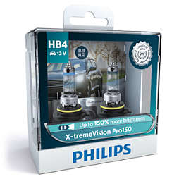 X-tremeVision Pro150 bola lampu depan mobil