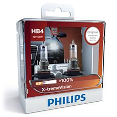 9006XVS2 X-tremeVision Bola lampu depan