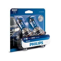 Vision upgrade headlight bulb