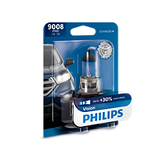 9008PRB1 -   Vision upgrade headlight bulb