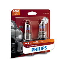 9008XVB2 X-tremeVision upgrade headlight bulb