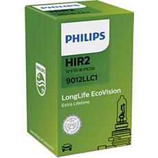 9012LLC1 LongLife EcoVision Fahrzeugscheinwerferlampe