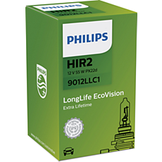 9012LLC1 LongLife EcoVision car headlight bulb