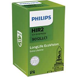 LongLife EcoVision strålkastarlampa för bil