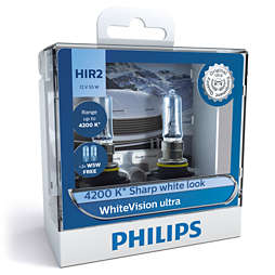WhiteVision ultra Bóng đèn pha xe hơi