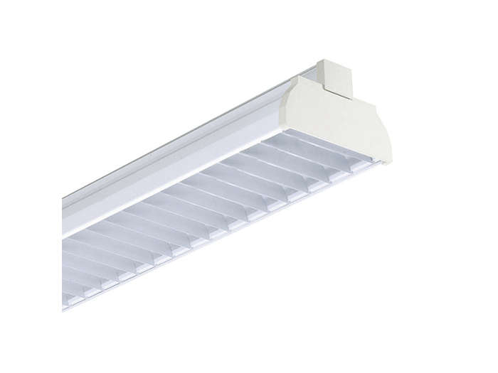 GMX450 TL-D multi-purpose reflector(s) and GGX450 white lamellae louver (L), to be ordered separatley