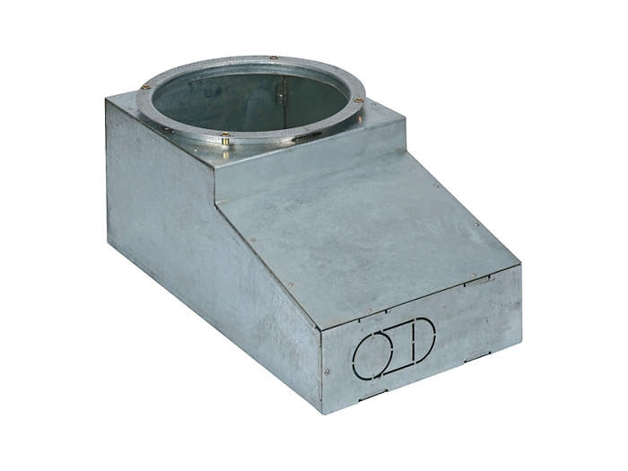 Recessed mounting box, L-shaped (ZBP523 RMRL)