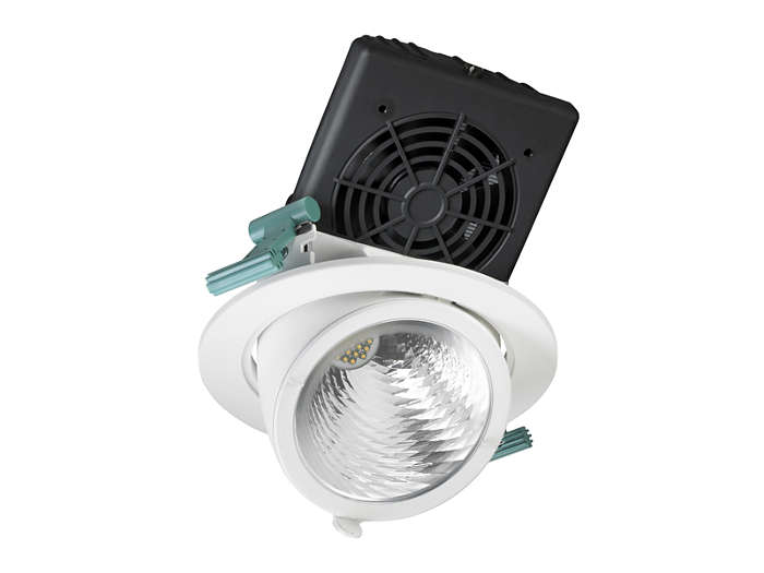 LuxSpace Accent Fresh Food elbow downlight, performance version