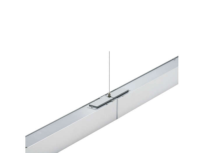 Celino TPS680 suspended luminaires can be connected in a line arrangement